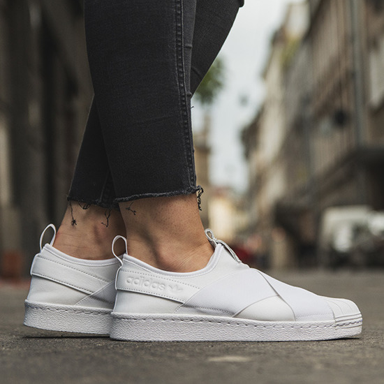 SNEAKER SHOES ADIDAS ORIGINALS SUPERSTAR SLIP ON S81338