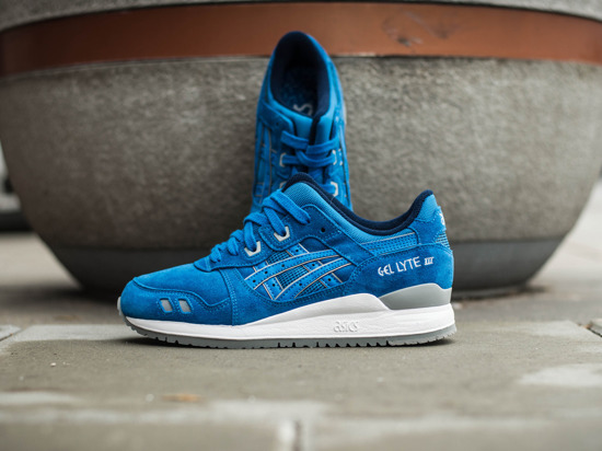"WOMEN'S SHOES SNEAKERS Asics Gel-Lyte III ""Puddle Pack"" H5U3L 4242"