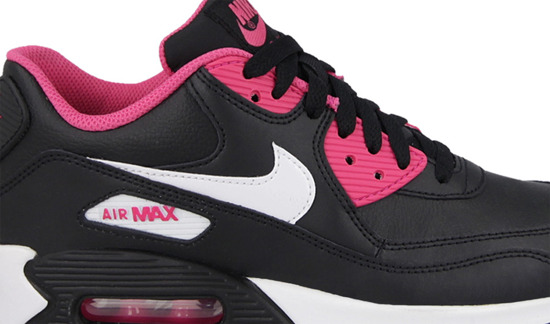 WOMEN'S SHOES SNEAKERS NIKE AIR MAX 90 LTR ( GS) 724852 006