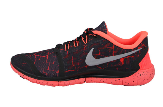 WOMEN'S SHOES  SNEAKERS NIKE FREE 5.0 LAVA (GS) 807593 006