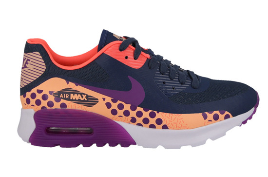 WOMEN'S SHOES SNEAKERS Nike Air Max 90 Ultra BR Print 807352 400