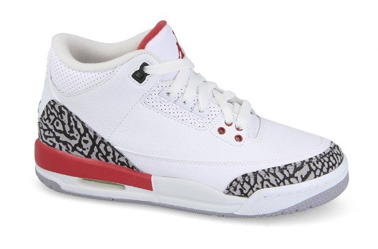 "Women's Shoes sneakers Air Jordan 3 Retro BG ""Katrina"" 398614 116"