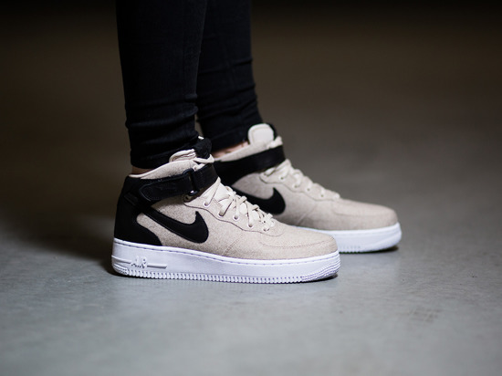 nike air force 1 07 mid leather premium women