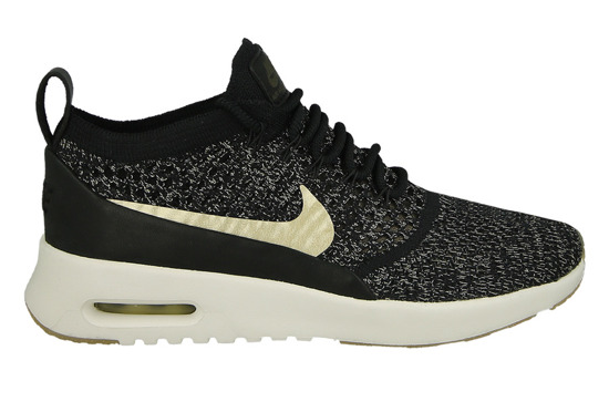 Women's Shoes sneakers Nike Air Max Thea Ultra Flyknit Metallic Gold 881564 001