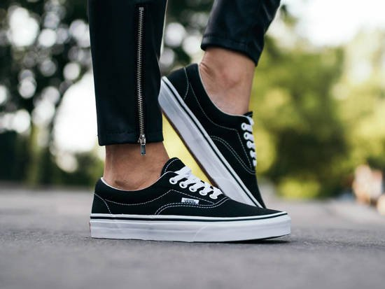 Women's Shoes sneakers Vans Era EWZBLK