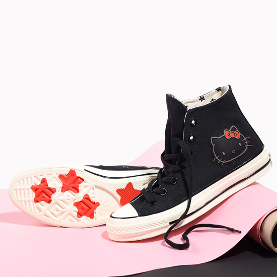 Women's shoes sneakers Converse Chuck 70 x Hello Kitty 163902C