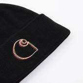Carhartt WIP Commission Logo I028482 BLACK