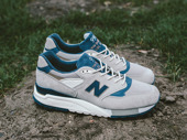 "Men's Shoes sneakers New Balance Made in USA ""Explore by Sea"" M998CSEF"