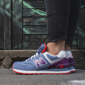SNEAKER SHOES NEW BALANCE GLACIAL PACK WL574SLX