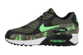 WOMEN'S SHOES  SNEAKERS Nike Air Max 90 Premium Leather (GS) 724879 003