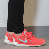 WOMEN'S SHOES SNEAKERS Nike Free 5.0 Bright Crimson 724383 601