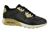 Women's Shoes sneakers Nike Air Max 90 Ultra 2.0 Flyknit Metallic Gold 881563 001